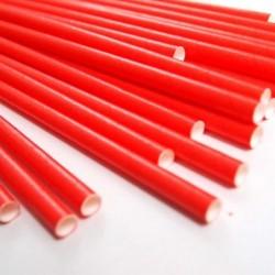Kağıt Pipet Renkli
