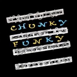 Funky Alfabe Cetvel Set 6 Lı