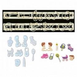 Bebek Temalı Cetvel Set C19-7