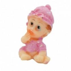 Şapkalı Mini Bebek Biblo 10...