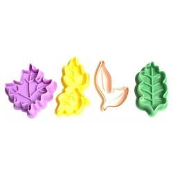 4 Çeşit Yaprak Basmalı...