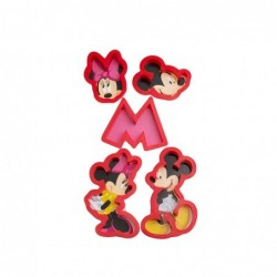 Plastik Mickey Mause Set 5'li