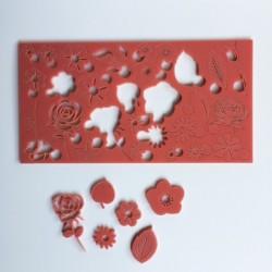 Çiçekler Kaligrafi Set