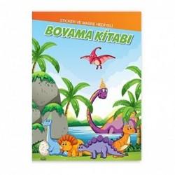 Dinozor Boyama Kitabı 10 Lu