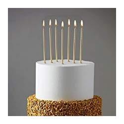 Metalik Altlıklı Pasta Mumu...