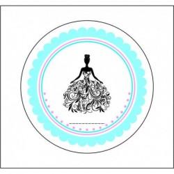 Sticker 12 Li Gelinlik