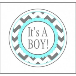 Sticker 12 Li It's A Boy