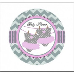 Sticker 12 Li Baby Shower...
