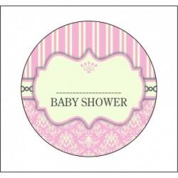 Sticker 12 Li Baby Shower...