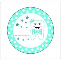Sticker 12 Li Gülen Diş...