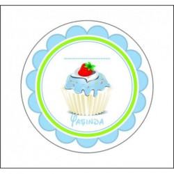 Sticker 12 Li Cupcake