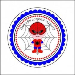 Sticker 12 Li Çocuk Örümcek
