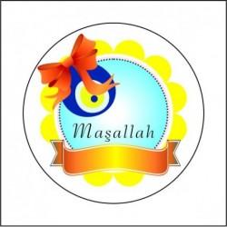 Sticker 12 Li Maşallah