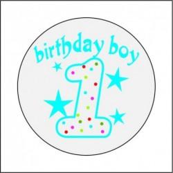 Sticker 12 Li Bırthday Boy...