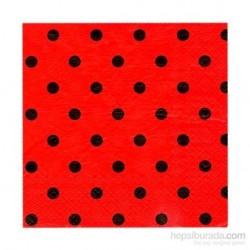Roll-Up Kırmızı Puantiyeli...