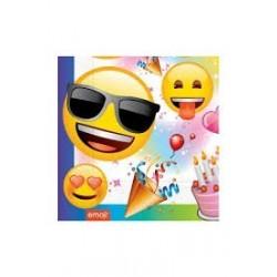Roll-Up Emoji Parti Peçete...