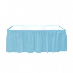 Plastik Açık Mavi Masa Eteği