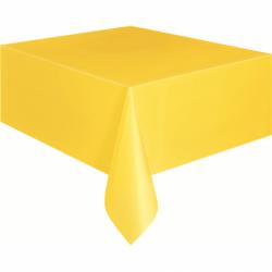 Plastik Masa Örtüsü Sarı