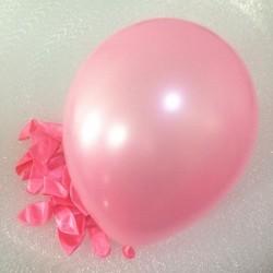 Metalik Pembe Balon