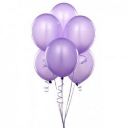 Düz Renk Balon (Lila) 100 Adet