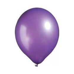 Metalik Mor Balon 100 Lü