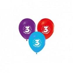 3 Yaş Baskılı Balon