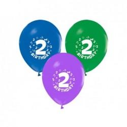 2 Yaş Baskılı Balon