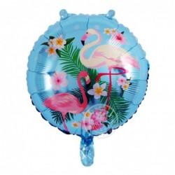 Flamingo Folyo Balon - Mavi