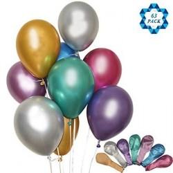 Krom Balon 10 Adet