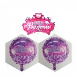 Prenses Tema Folyo Balon Set