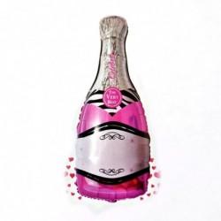 Pembe Şampanya Şişe Folyo...