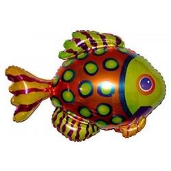 Renkli Balık Folyo Balon