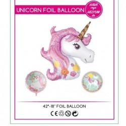 Unicorn Folyo Balon 3 Lü Set