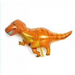 Turuncu Dinozor Folyo Balon