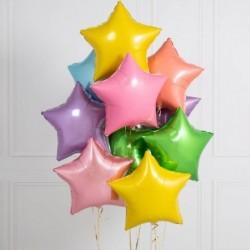 Pastel Yıldız Balon
