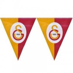 Galatasaray Üçgen Bayrak Set