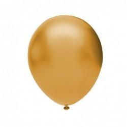 Metalik Balon 100 Ad-Altın