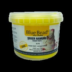Bluebead Sarı Şeker Hamuru 1kg