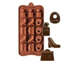Silikon Çikolata Kalıbı...