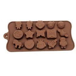 Silikon Çikolata Kalıbı Aşk...