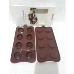 Silikon Çikolata Kalıbı-Düğme