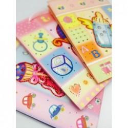 Bebek Temalı Karton Çanta -...